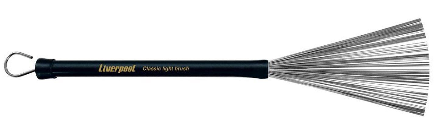 Liverpool Vassourinha Aço C/ Puxador Light Brush VA182