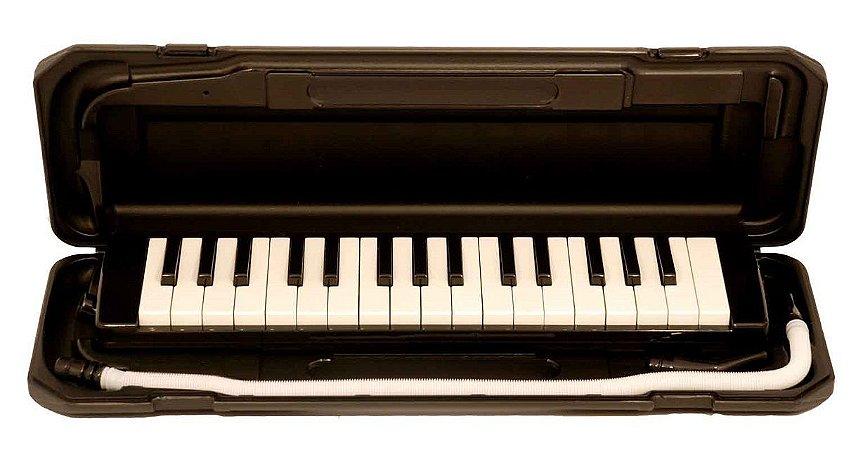 Dolphin Escaleta 32 Teclas Com Case Preto 6408