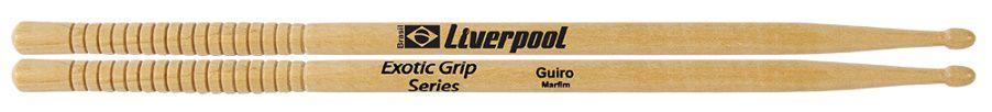 Liverpool Baqueta Exotic Grip Guiro Marfim P.M PEGGUI