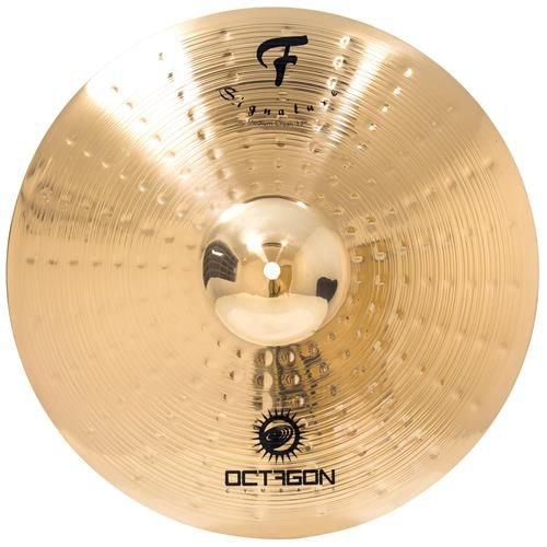 Octagon Medium Crash 17 F Signature FS17MC Prato P/ Bateria