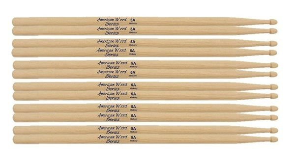 Kit Com 30 Pares De Baquetas Liverpool Hickory 5a - HY5AM