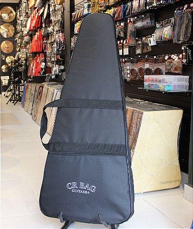 Cr Bag Para Guitarra Capa Acolchoada Alta Qualidade CRBG