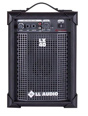 Ll Audio Caixa De Som Amplificada Multiuso 10w Lx40