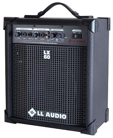 Ll Audio Caixa De Som Amplificada Multiuso 15w Lx60