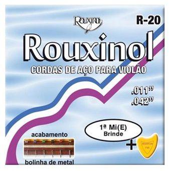 Rouxinol Encordoamento Violão Aço Com Bolinha R-20