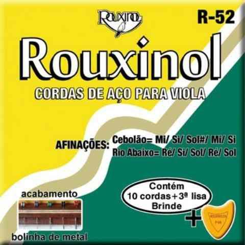 Rouxinol Encordoamento Viola MI com Bolinha R-52