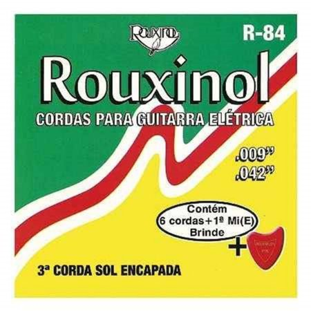 Rouxinol Encordoamento Guitarra 009 R-84