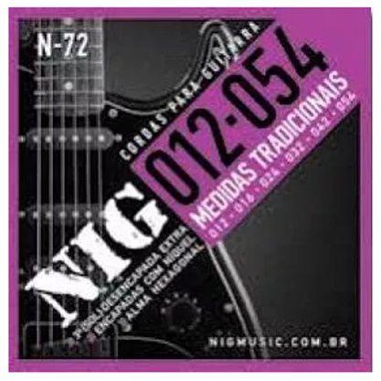Nig Encordoamento Guitarra 012 N-72