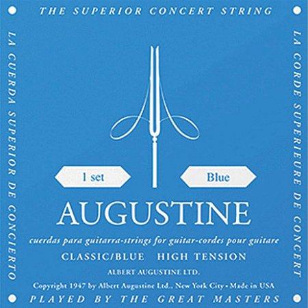 Augustine Jogo De Cordas De Nylon Classic Blue.