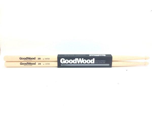 Vater Goodwood Par de Baquetas Hickory 2B PM GW2BW