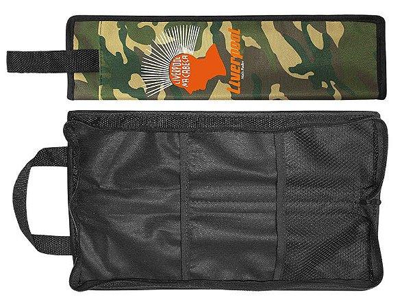 Liverpool Bag de Baqueta Camuflado Compacto BAGCOM02