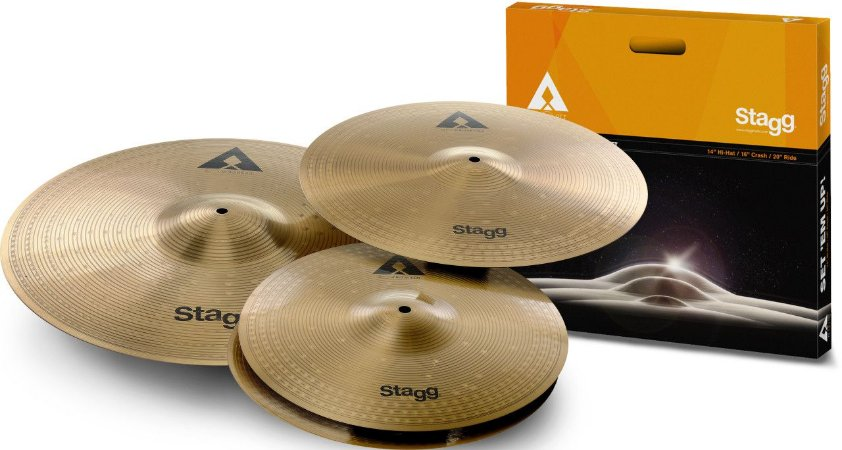 Stagg Kit de Pratos 14/16/20 AXK