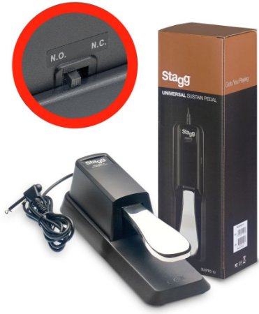 Stagg Pedal de Sustain Susped10