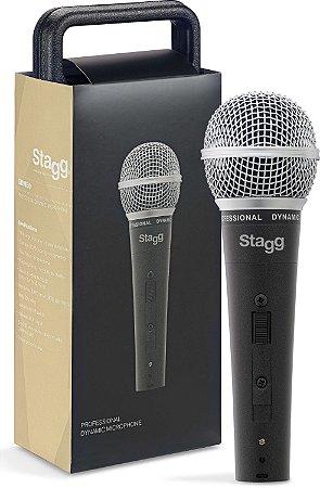 Stagg Microfone Dinâmico c/ Cabo 5 mts SDM50
