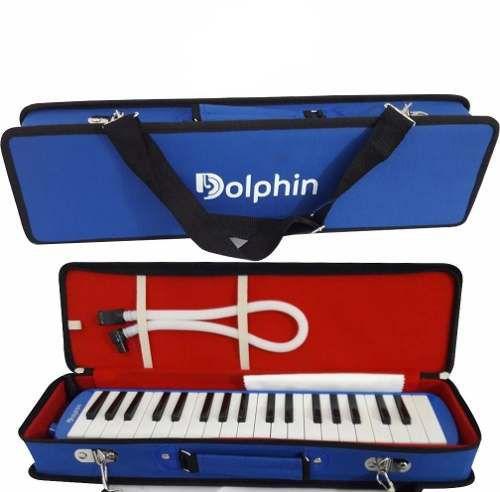 Dolphin Escaleta 37 Teclas Com Semi Case Azul 6721