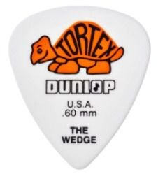 Dunlop Palheta Tortex Wedge 0,60MM 3322