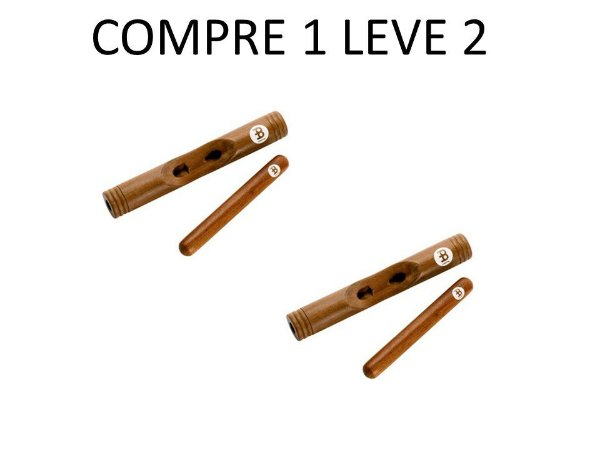 Meinl Claves African Hollowed out body Rewood CL3RW