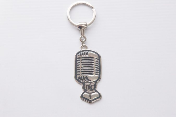 Paganini Chaveiro Microfone