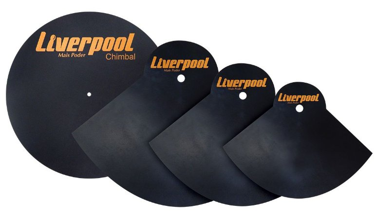 "Liverpool Kit Abafadores de Pratos 14"",16"",20"""