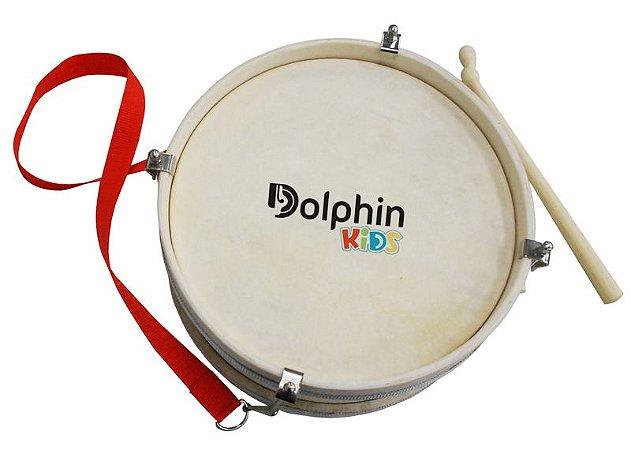 Dolphin Bumbo Infantil 10 Polegadas Madeira Pele Leitosa 8461