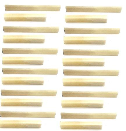 Juk Kit Com 12 Rastilho E 12 Pestana 100% Osso Para Violão