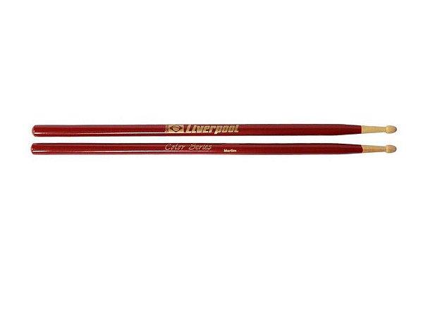 Liverpool Baqueta Marfim Color Series Vermelha 5a Lc5amv