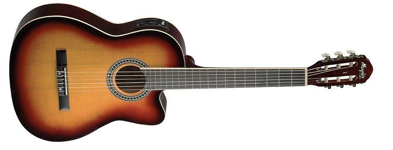 Tagima Violao Memphis Nylon Elétrico Preto Ac-60sb