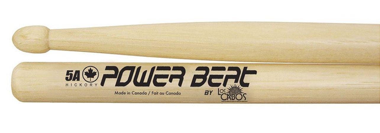 Los Cabos Power Beat Par De Baquetas 5a Hickory Lcdpb5a
