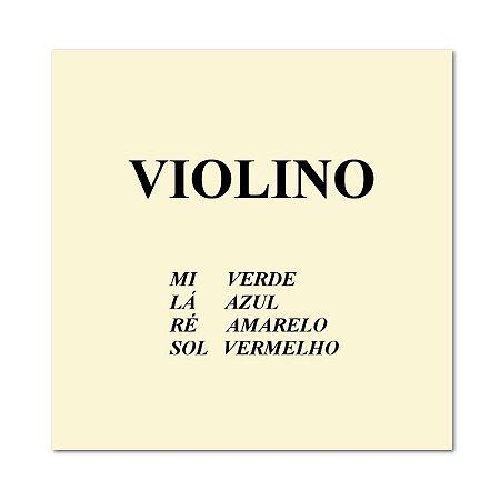 Mauro Calixto Encordoamento Para Violino 4/4