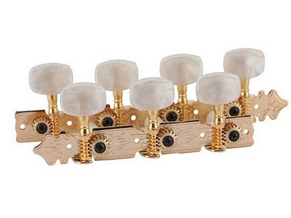 Deval Tarraxa Eco Dourada Para Violão 7 Cordas ACA3021