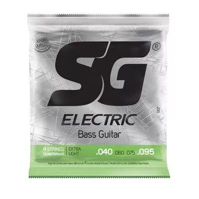 Sg Encordoamento De Aço Para Baixo .040 - .095 Eletric 5107