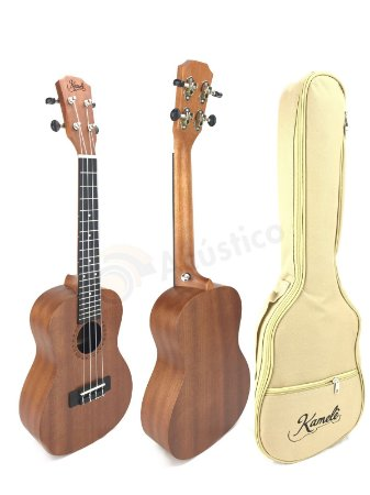 Paganini Kamele Ukulele Soprano Acústico KML700