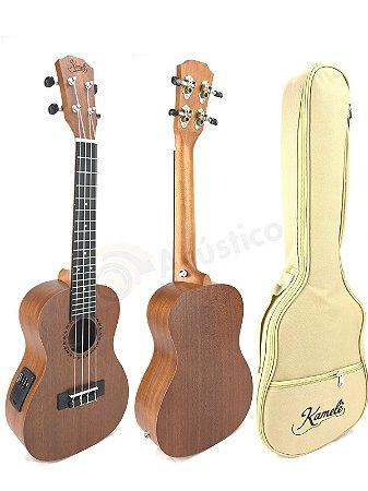 Paganini Kamele Ukulele Soprano Elétrico Kml702