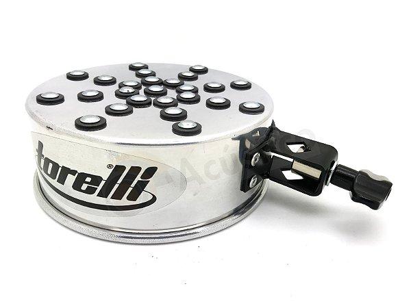 Torelli Shakerim Corpo Tamborim Aluminio C/ Rebites E Clamp TG546