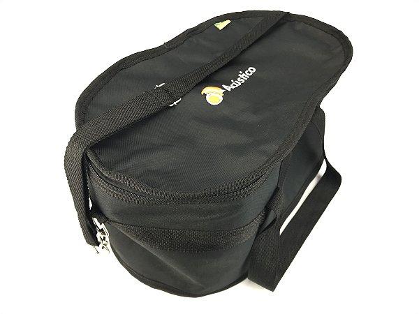Oa Bag P/ Bongo Flex Hard Preto Bip014sl
