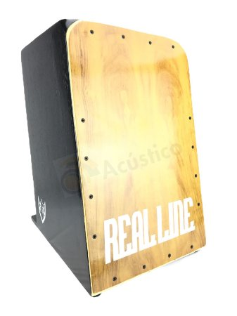 Real Line Cajón Inclinado Acústico Mod Turbo Imbuia RL05