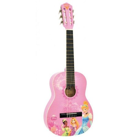 Phx Violão Infantil Disney True Princess Vip-1 Princesas