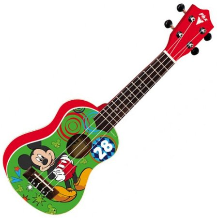 Phx Ukulele Soprano Disney Mickey Red UKP-MK2