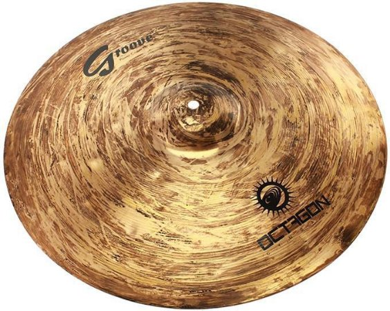 Octagon Power Crash Groove 18 GR18PC Prato Para Bateria