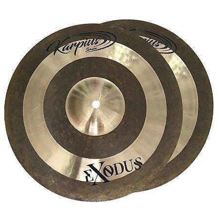 """Karpius EXD Prato Hi Hat Chimbal 14"""" Bronze B20 29446"""