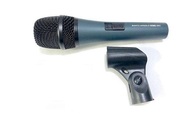 Santo Angelo Microfone Cardioide SAS 35C  Tipo Dinamico