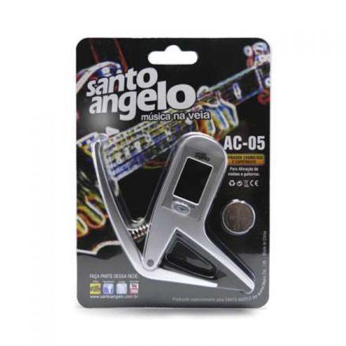 Santo Angelo Afinador Capotraste Violão Guitarra Ac05