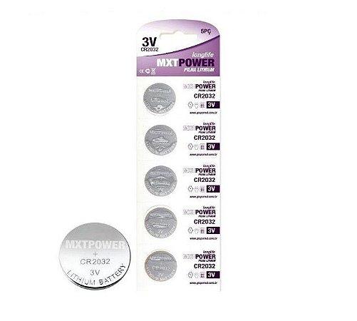 Pell Bateria Lithium Cr2032 5 Unidades