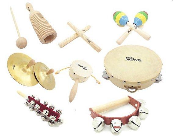 Dolphin Bandinha C/08 Instrumentos Infantil C/ Bolsa 1373