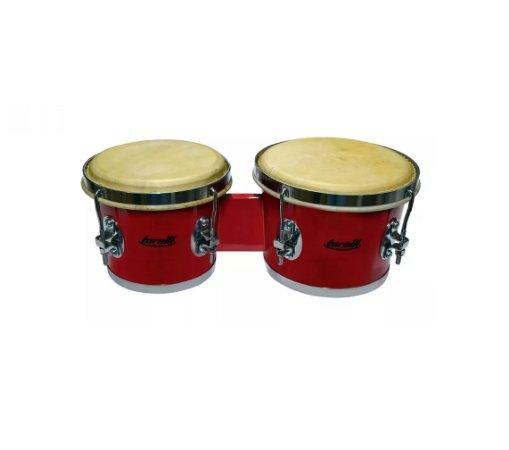 Torelli Bongo 6x7 Vermelho Tb010VM Cromado Fórmica Pele Animal