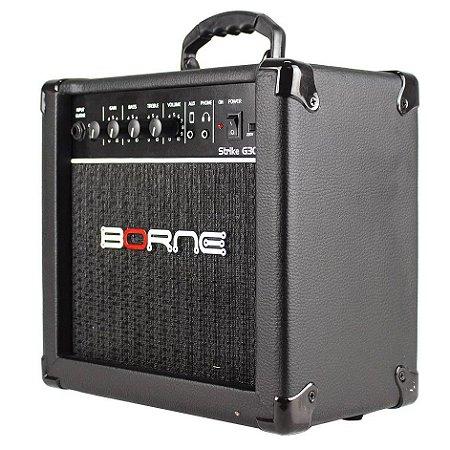 Borne Amplificador De Guitarra Strike G30 15w