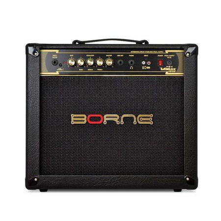 Borne Amplificador Para Guitarra Vorax 1050 50w - Preto