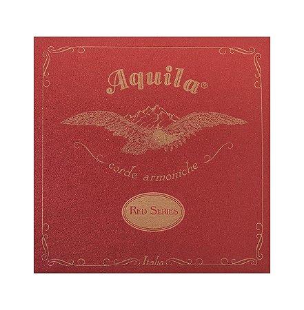 Aquila Encordoamento Cavaquinho Nylon Red Tensão Média AQ15CHMD