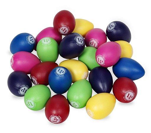 Lp Egg Shakers Mix Ganza Ovinho Cores Diversas lp001