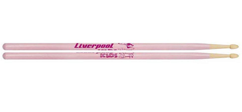Liverpool Baqueta Classic Series Kids Marfim Rosa LLKIDR